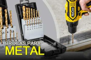 brocas para metales duros