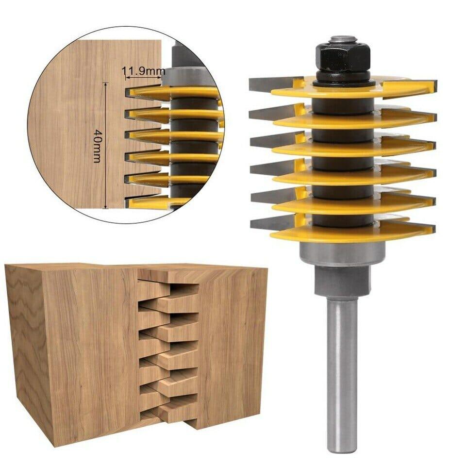 brocas router para ensamblar madera