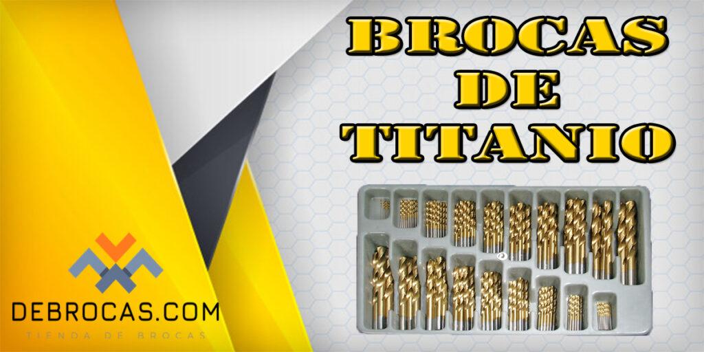 Brocas de Titanio en OFERTA el 2021
