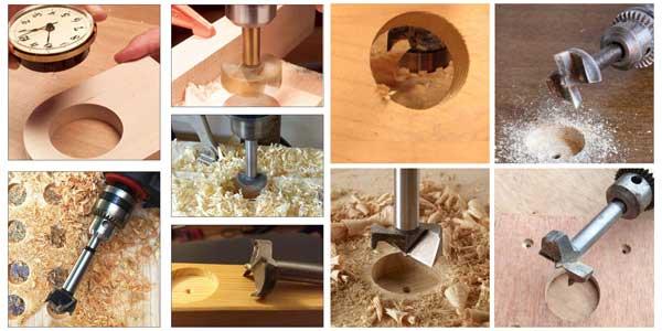 características de las brocas para madera
